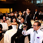 HIROSHIMA MONOLITH(広島モノリス):しっかりと向き合い、ともに結婚式を創りあげてくれたプランナーに感謝。ドレスやBGMもすべて希望通りに!