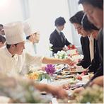 姫路モノリス 旧逓信省姫路別館(HIMEJI MONOLITH):デザートビュッフェでゲストとの触れ合いも思いっきり楽しんだ!スタッフからのサプライズに思わず感激