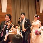 姫路モノリス 旧逓信省姫路別館(HIMEJI MONOLITH):イメージを固めるところからふたりを導いてくれたスタッフ。「想像の何十倍も素敵な結婚式になりました」
