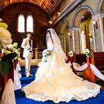 ベルヴィギャザホール・ハウス オブ ザ マカロン:独立型チャペルと貸切邸宅で叶える結婚式に期待で胸が膨らんだ。スタッフの親身な対応や豊富な衣裳も決め手