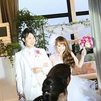 アルカンシエル luxe mariage 名古屋:遠方ゲストも安心の名古屋駅から歩いて5分。「都心では無理かも…」と諦めていたガーデンが新婦の目の前に