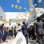 アルカンシエル luxe mariage 名古屋:名古屋駅から徒歩5分の好立地!非日常感あふれる上質な空間と、信頼できるスタッフの対応が心を掴んだ