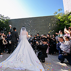 アルカンシエル luxe mariage 名古屋:遠方ゲストもアクセスしやすい、名古屋駅からすぐの立地。演出の希望を前向きに受け止めてくれた