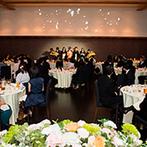 けやき坂 彩桜邸 シーズンズテラス(けやきざか さいおうてい):感謝の気持ちをたくさん詰め込んだパーティでおもてなし。絶品和風フレンチがゲストの笑顔を誘った