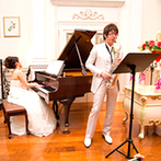 オステルリー・ド・コートダジュール:コンサートのようにゲストと楽しむ結婚式がしたい!自由度の高さやパーティ空間、控室など希望にぴったり