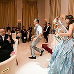 """ヴィラ・グランディス ウエディングリゾート FUKUI:""""楽しい""""を詰め込んだ幸せな時間。フラッシュモブや打ち上げ花火など、ゲストのテンションもUP!"""