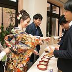 ヴィラ・グランディス ウエディングリゾート FUKUI:料理長がお店の味を忠実に再現!ふたりこだわりのラーメンビュッフェは、ゲストとの大切な会話の時間にも