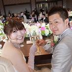 岡山プラザホテル:絶景も、ごちそうに。絶好のロケーションを誇る披露宴会場で、料理人の真心を感じる料理を味わった