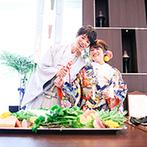 ラグナヴェール TOKYO:和装にぴったりの『鯛の塩釜開き』は、美味しいおもてなし演出に。新鮮な食材を生かしたメニューに絶賛の声