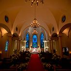 ローズガーデンクライスト教会:本格的なプロテスタント教会で神聖な挙式を叶えたい!ゲストとわかちあう感動のひと時に期待で胸が膨らんだ