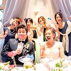 ローズガーデンクライスト教会:ゲストも馴染みがある和洋食のおもてなし料理が大人気!終始笑いのたえないアットホームなひと時となった