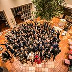 ローズガーデンクライスト教会:丁寧な配慮で、理想の結婚式へ導いてくれたプランナーたち。盛りあがるパーティも美味しいおもてなしも実現