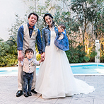 ルシアスガーデン(Luscious Garden):家族の幸せは、ぜひ結婚式でアピールを!ドレスは妥協せず、アイデアを活かして思う存分お洒落を楽しんで