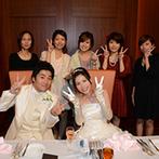 フルーツパーク富士屋ホテル:新日本三大夜景に認定された夜景を眺めるアットホームな祝宴。ゆったりしたプログラムでゲストと触れ合った