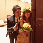 萃香園ホテル(スイコウエンホテル):パートナーと力を合わせて理想の結婚式を叶えて。緊張に負けず、笑顔を心がけて最高の一日を満喫しよう!