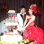 甲府 記念日ホテル:プランナーの徹底サポートで理想の結婚式が実現!イメージ通りのケーキを創ってくれたパティシエにも感謝