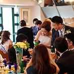 TO THE HERBS:美食でゲストに感謝を伝える特別感あふれる結婚式を希望。1日1組貸切で自由度の高いレストランに心惹かれた