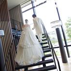 IRIS WATER TERRACE AYAMEIKE:一生に一度の花嫁姿は、妥協したくないもの。前撮りを取り入れて、当日の姿をチェックしておいては