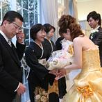 富山セント・マリー教会&迎賓館VICTORIA:妊娠中の新婦をいつも気遣ってくれたプランナー。両親やゲスト、ふたりの笑顔あふれる大満足の1日に