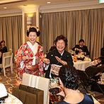 弓張の丘ホテル:ヘアメイクや衣裳のリハーサルにもなる前撮りを取り入れよう。結婚式は日本髪を経験できる貴重な機会
