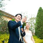 ララマリー(アニエスガーデン山口):緑溢れるナチュラルなウエディング空間で叶える温かな結婚式。スタッフの対応や料理などおもてなしも安心