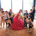 NIIGATA MONOLITH(新潟モノリス):スタッフの行き届いた配慮のおかげで、家族3人の結婚式が大成功。理想の花嫁姿へ導く、プロの力にも感動!