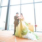 NIIGATA MONOLITH(新潟モノリス):香りや味、彩りなど、五感をくすぐる新感覚のウエディング。希望のドレスやスタイルは、妥協せずに叶えよう