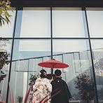 NIIGATA MONOLITH(新潟モノリス):まさかの和装でのサプライズ入場にゲストから大歓声。地元のお酒と和洋折衷のフルコースも喜ばれた