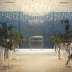 NIIGATA MONOLITH(新潟モノリス):花嫁姿が映えるクリスタルチャペルに一目ぼれ。高級感あふれる上質な空間でゲストをもてなしたいと思った