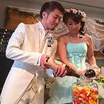 ヴィラ ド ナチュール:ゲストと一緒に作りあげた果実酒は、結婚式後のお楽しみ!参加型の演出や感謝の映像で大いに盛りあがった