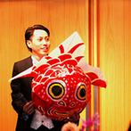 AMANDAN BLUE 鎌倉(アマンダンブルー鎌倉):「家族の絆」を感じるフィナーレへと続く、考え抜かれたプログラム。ねぶたを使った新郎の余興も大盛況!