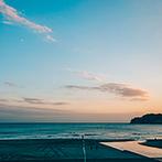 AMANDAN BLUE 鎌倉(アマンダンブルー鎌倉):幼い頃から親しみのある湘南の海に見守られて過ごす一日。おもてなしのクオリティや自由度の高さも決め手