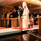 大宮璃宮:ゲスト全員に参列してもらえる館内神殿が魅力的!冬でも快適に過ごせる、バリアフリーの会場に決めた