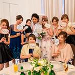 ONE&ONLY ル・グラン・ミラージュ:プランナーのしっかりとしたサポートで、憧れの結婚式が実現できた。ゲストにも喜んでもらえ、幸せな一日に