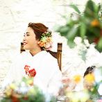 定禅寺ガーデンヒルズ迎賓館:手作りアイテムに挑戦するカップルは早めの準備を。披露宴前などにゲストとの時間を持つのもおすすめ