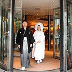 金沢ニューグランドホテル:幼い頃から憧れていた白無垢を着て、古式ゆかしい神前式を叶えたい!美味しい料理が魅力のホテルもポイント