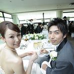 葉山庵 Tokyo:シェフと直接打合せを重ねて完成させた、ふたりらしさを感じる料理で、ゲストのお腹と心を満たした