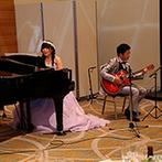シェラトングランドホテル広島:「ふたりの希望はどんなことでもお任せ!」。プランナーを始め、頼りになるスタッフが理想を実現してくれた