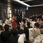 ラグナヴェール大阪 LAGUNAVEIL OSAKA:ふたりからのありがとうの気持ちを込めた演出やキャンドルリレーで、ゲスト全員と楽しんだパーティ