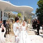 ラヴィーナ姫路(Wedding Manor House La Viena Himeji):新たに誕生する美しいチャペルに惹かれて即決!予算のことも遠慮なく相談できたスタッフの対応に安心感