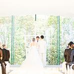 ラヴィーナ姫路(Wedding Manor House La Viena Himeji):スタッフのおもてなしの数々に、ここなら素敵な結婚式が叶うと確信。完成間近のチャペルにも惹かれ即決!