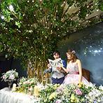 宮の森フランセス教会:入場演出やフラッシュモブ、誕生日サプライズなど見どころ満点。笑顔があふれる賑やかで楽しいパーティ