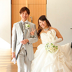 ホテル日航新潟:披露宴開始までの時間をゲストに楽しく過ごしてもらえるように、席次表やカードなどを活用してみては?