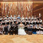 PARK WESTON HOTEL&WEDDING(パークウエストン ホテル&ウエディング):同じ気持ちで大切な日に向き合ってくれたスタッフたち。全員で心を合わせ、ふたりとゲストを笑顔に導いた
