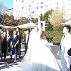 THE LANDMARK SQUARE TOKYO(ザ ランドマークスクエア トーキョー):品川駅前という好立地にありながら、青空と緑に包まれる開放感!和装が似合う会場で【THE 結婚式】を