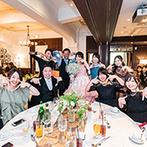 フォーチュン ガーデン 京都(FORTUNE GARDEN KYOTO):誰もが参加できる一工夫で笑顔の輪が広がった。笑いあり、感動ありの表情をまとめたムービーでフィナーレへ