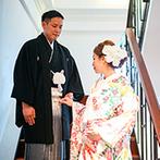 フォーチュン ガーデン 京都(FORTUNE GARDEN KYOTO):スタッフ全員が笑顔で迎え、プロとしての対応力や立ち振る舞いも見事。細やかな配慮に両親からも絶賛の声が