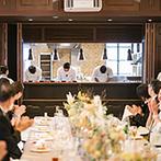 フォーチュン ガーデン 京都(FORTUNE GARDEN KYOTO):特別感たっぷりのオープンキッチン付きの貸切空間で家族・親族だけのアットホームな少人数パーティ