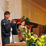 湯沢グランドホテル:盛大なパーティながら、一人ひとりに心を込めておもてなし。こだわりのドリンク&料理にゲストも笑顔