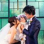 ORIENTAL KYOTO SUZAKU-TEI 朱雀邸:家族3人で迎える結婚式をしっかり支えてくれたスタッフたちに感謝。前例のない演出も叶えてもらえた